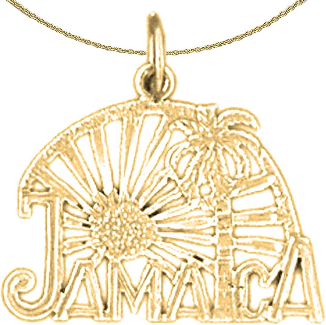 Jewels Free shipping / New Obsession 14K Yellow High material Gold with Neckla 18