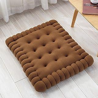 Coussin de siège pour chaise de bureau coussinets de siège épaissis doux multifonctionnels carré antidérapant tatami intér...