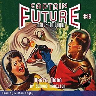 Captain Future #16 Magic Moon cover art