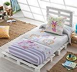 Textilonline - Edredon Ajustable Friends (Cama 90 cm)