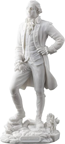 George Washington Standing Statue Sculpture Founding Father