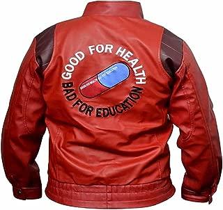 Akira Kaneda Real Leather Moto Jacket, Xs-5xl