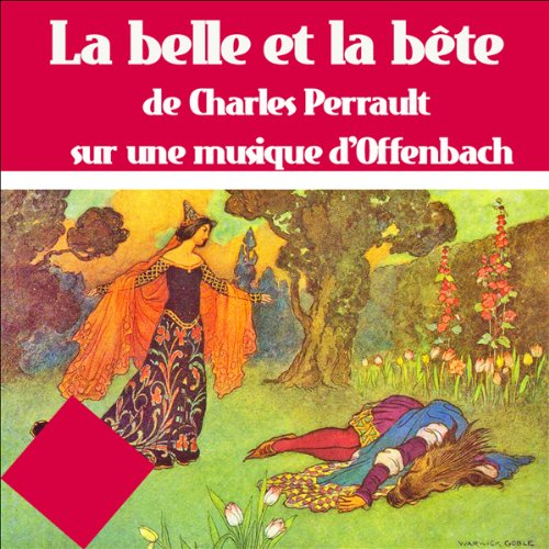 La belle et la bête audiobook cover art