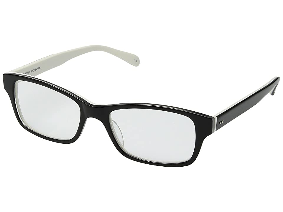 Corinne McCormack Jess (Black/White) Reading Glasses Sunglasses