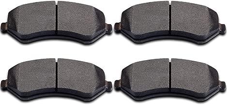 Brake Pads,ECCPP 4pcs Front Ceramic Disc Brake Pads Kits fit for 2001-2006 Chrysler Town Country,2001-2003 Chrysler Voyager,2001-2007 Dodge Caravan/Dodge Caravan Caravan,2002-2007 Jeep Liberty