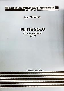 Jean Sibelius: Flute Solo (Scaramouche) Op.71