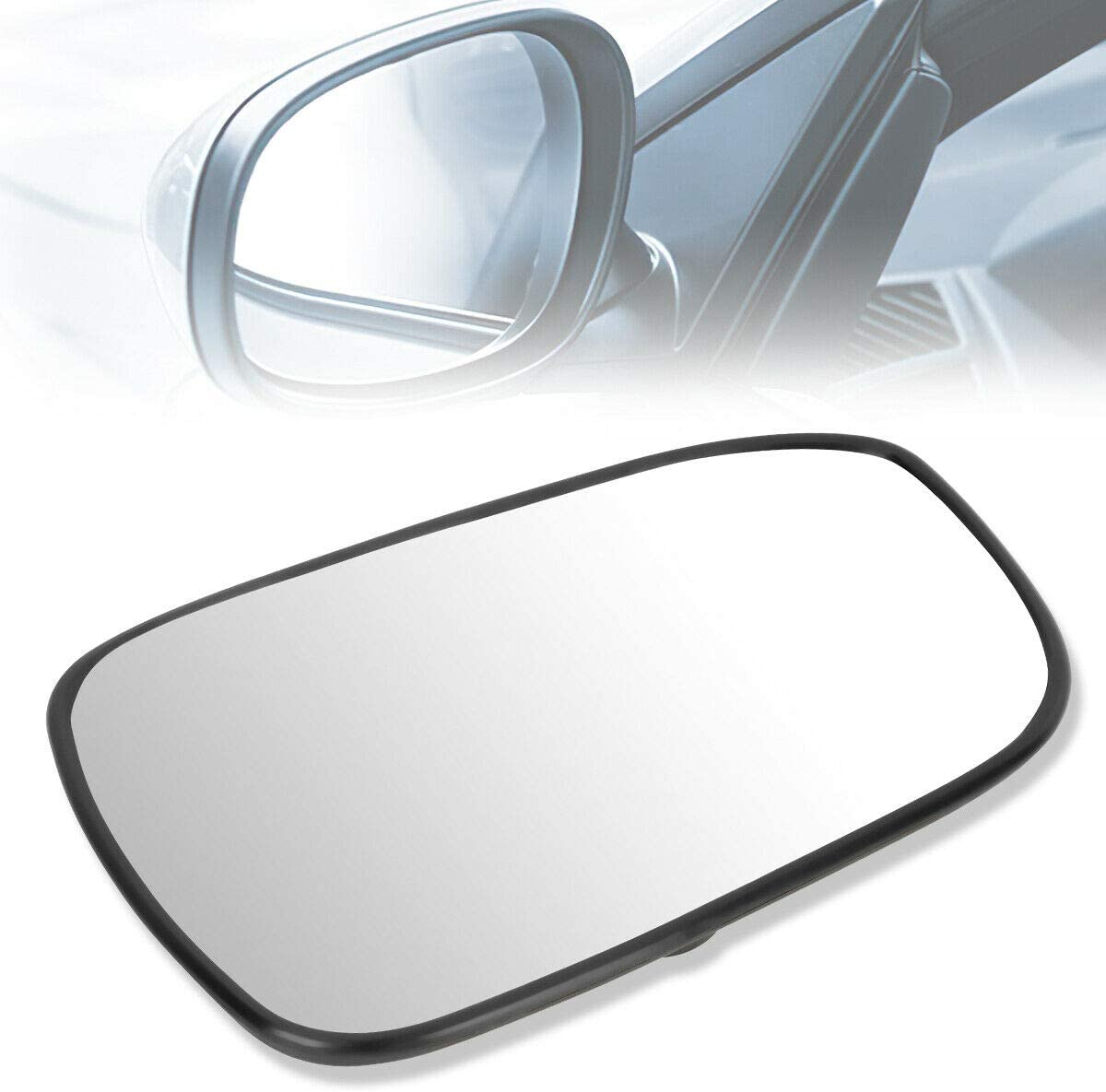 cskj Compatible withOE Style RH Super popular specialty store Right Mirror 762 Glass Lens Indianapolis Mall Heat