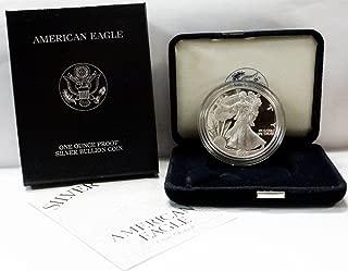 2000 P American 1 oz Silver Eagle Dollar PROOF US Mint
