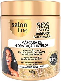 Máscara de Hidratação S. O. S Cachos Radiance Brilho Absoluto, Salon Line, 500g