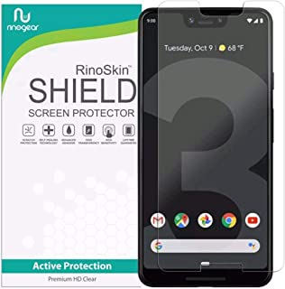 Google Pixel 3 XL, Screen Protector RinoGear USA Made + Lifetime Replacements