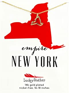 new york charm necklace