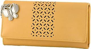 Butterflies Women's Wallet (Mustard) (BNS 2386MSD)