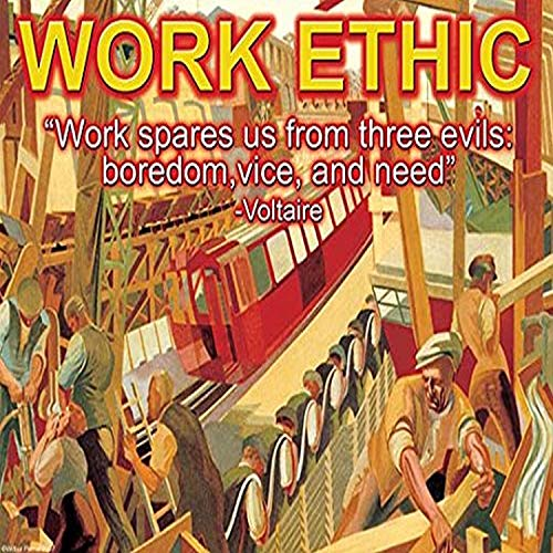 Buyenlarge 'Work Ethic' Paper Poster, 20 by 30-Inch