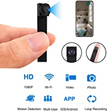 Mini WiFi DIY Spy Camera 1080P Wireless Hidden Camera Small Nanny Cam with Motion Detection Home Security Recording Remote...