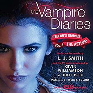 The Vampire Diaries: Stefan's Diaries #5: The Asylum cover art