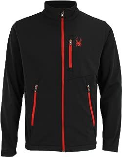 Spyder Men's Transport Full Zip Softshell Jacket, Color Variation