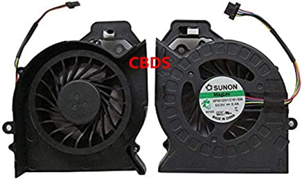 CBDS Replacement Parts CPU Cooling Fan Compatible with HP Pavilion DV6-6000 DV7-6000 Series Dv6-6050 Dv6-6090 Dv6-6100 6151 6b12tx Dv6-6135 DV7-6175US MF60120V1-C181-S9A in Non-Retail Packaging.