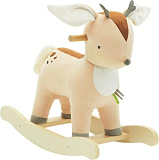 【New】Labebe Baby Rocking Horse Plush, Male Fawn Rocker Toy for Child 1-3 Years, Musical Rocking Horse/Fawn Rocking Horse/Deer Rocker/Reindeer Rocking Horse/Riding Horse/Stuffed Animal Rocker