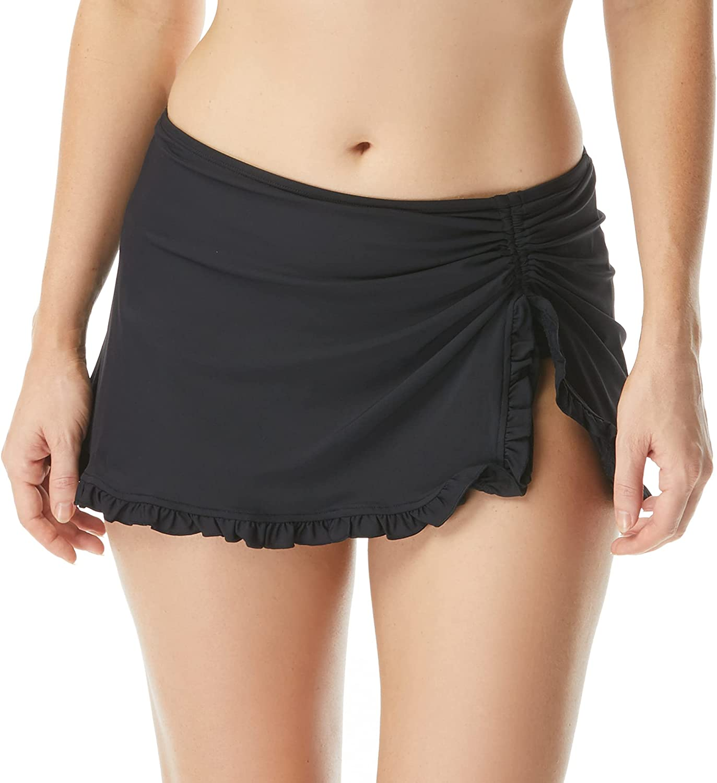 BEACH HOUSE Ruffled Latest item Side Tie — Skirt Ruffle Cheap SALE Start Swim Adjustable