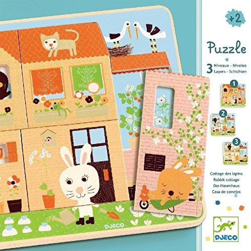 Djeco-puzzle 3 Niveaux \