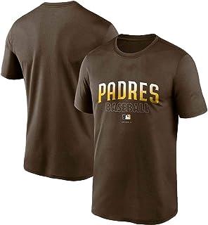 XCJ 野球ユニフォーム、パドレスジャージ23#Tatis JR半袖、13#マチャドラウンドネックTシャツ、19#グウィントップ,男性用野球シャツ、選手のユニフォーム、ファンのためのスポーツウェア 、ファン用野球ユニフォーム、半袖Tシャツ、チー...