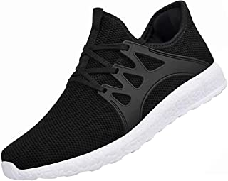 Men's Sneakers Non Slip Work Shoes Ultra Lightweight Breathable Athletic Running..
