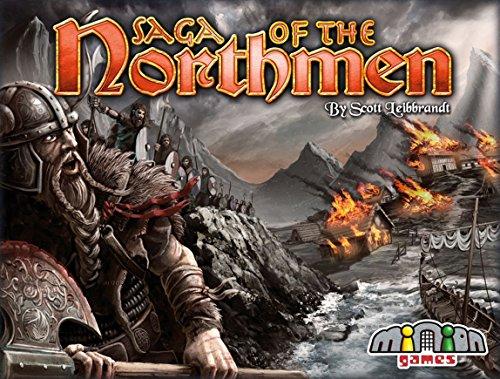 Minion Games MIGSN100 Brettspiel Saga of The Northmen