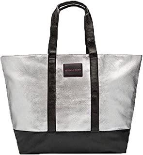 Victoria's Secret Limited Edition XL Weekender Tote Bag Silver