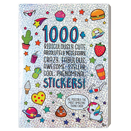 Fashion Angels 1000+ Ridiculously Cute Stickers/ 40 page Sticker Book JungleDealsBlog.com