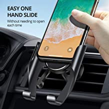 AIVANT Car Mount Phone Holder, Innovative Tripod Design Air Vent Cellphone Car Cradles One Hand Operation Phone Stands Car Table Use Compatible with 4.5''-6.5'' Smartphones (Black)