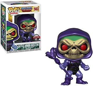 Pop Television: Masters of The Universe - Metallic Battle Armor Skeletor Collectible Figure, Multicolor