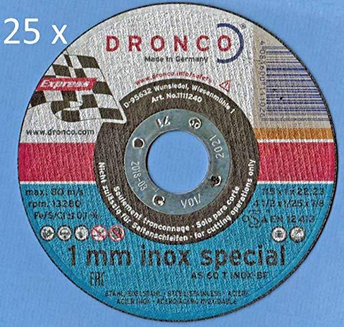 Trennscheiben AS 60T INOX-BF 1 mm Auswahl 25 Stück (125 mm)