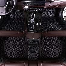 Leesville Fit for Benz Floor Mats Artificial Leather Floor Mat Full Surrounded Waterproof Car Floor Mats Black C-Class 2014-2019 W205 Sedan P010