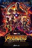 MCPosters - Marvel Avengers Infinity War 2018 Movie Poster GLOSSY FINISH - MCP018 (24' x 36' (61cm x 91.5cm))
