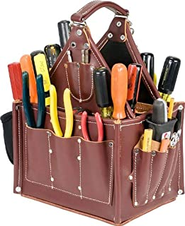 Best electrician tool bag leather Reviews