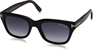 Tom Ford SNOWDON FT0237 05B Black/Other Sunglasses Grey...