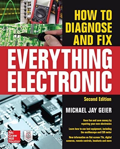 How to Diagnose and Fix Everything Electronic Second Edition product image