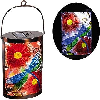 New Creative Dragonfly Garden Friends Hanging Solar Lantern
