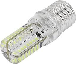 uxcell® E17 Socket 5W 64 LED Table Lamp Bulb 3014 SMD Light Pure White AC 200V-240V