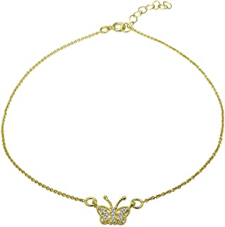 Best gold butterfly chain Reviews