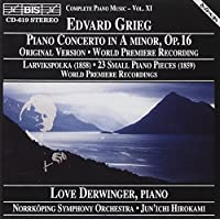 Piano Concerto In A Minor; Lar by EDVARD GRIEG