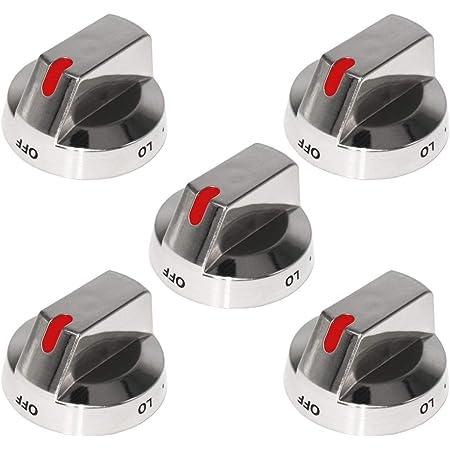 DG64-00472A DG64-00347A Top Burner Control Dial Knob Range Oven knob,Compatible with Samsung 1