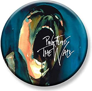 1.25 inch Pinback Button Badge Pink Floyd The Wall Scream