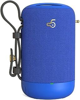 Nakelu Altavoz del Bluetooth inalámbrico móvil subwoofer computadora del Coche a Prueba de Agua al Aire Libre Creativa de Audio de Tarjetas portátil (Color : B)