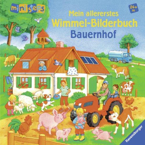 Mein allererstes Wimmel-Bilderbuch: Bauernhof: Ab 24 Monaten (ministeps Bücher)