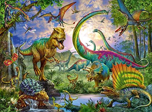 Puzzle Enfant Royaume des Dinosaures