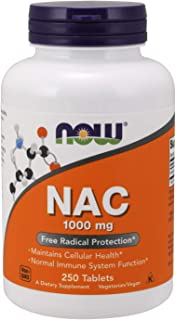 Now NAC 1000 mg, 250 Tablets, N-Acetyl-Cysteine