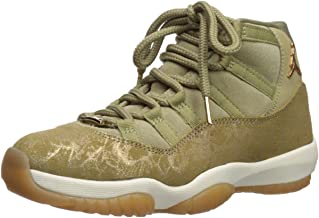 Nike Air Jordan 11 Retro Womens Shoes Neutral Olive/Metallic Stout/Sail ar0715-200 (10.5 M US)