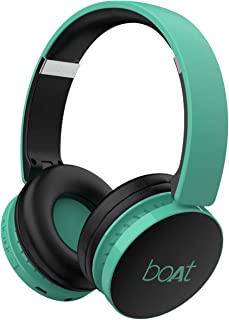 boAt Rockerz 370 Wireless Headphone with Bluetooth 5.0, Immersive Audio, Lightweight Ergonomic Design, Cosy Padded Earcups...