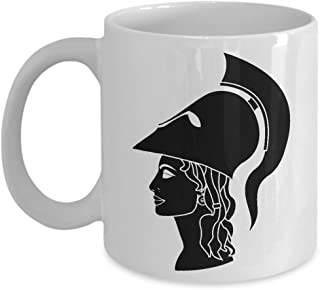 Greek Mythology Mug Athena - Coffee Mug of Ancient Greece - Art Mugs and Gifts